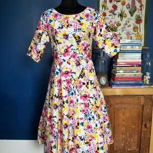 Vintage 90s does 50s handmade? Dress